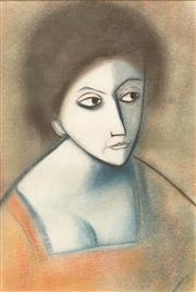 Sale 8642 - Lot 548 - Robert Dickerson (1924 - 2015) - Woman 54 x 37cm