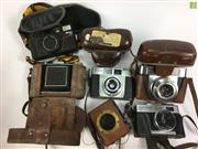 Sale 8648A - Lot 30 - Agfa Camera with Others incl. Contessa