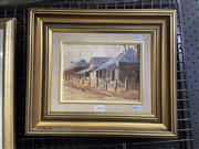 Sale 9050 - Lot 2014 - John Vander, Gulgong, oil on canvas board, frame: 35 x 35 cm, signed lower left