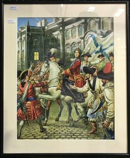 Sale 9106 - Lot 2011 - C. L Doughty - Catherine the Great,  frame: 52 x 43 x 3 cm