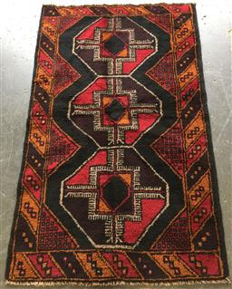 Sale 9146 - Lot 1068 - Hand knotted pure wool Persian baluchi ( 150 x 90cm)