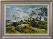 Sale 8323A - Lot 16 - Frank Cullen (1926 - ) - Wilderness Highpoint 50 x 75cm
