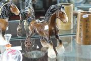 Sale 8348 - Lot 72 - Beswick Clydesdale Horse Shire Canter Model 975