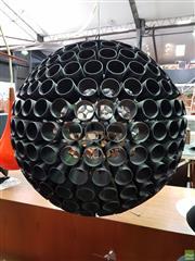 Sale 8566 - Lot 1096 - Modernist Sphere Hanging Light Fitting