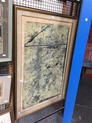 Sale 8771 - Lot 2058 - Leon Pericles - Mono Print monoprint ed.  2/4 (AF), 111 x 76cm (frame), signed and dated lower right