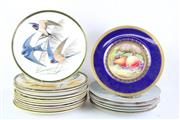 Sale 8823 - Lot 97 - A Large Collection of Various Franklin Mint Cabinet Plates inc A Minton Example