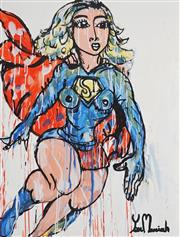Sale 8903A - Lot 5015 - Yosi Messiah (1964 - ) - Power Girl 100 x 75 cm