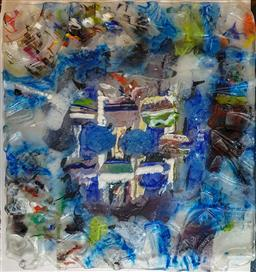 Sale 9002A - Lot 5015 - Stephen Skillitzi (1947 - ) - Coral Growth, c2012 59.5 x 55.5 cm
