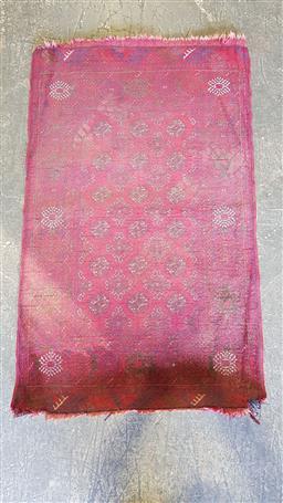 Sale 9157 - Lot 1075 - Persian turkoman (some losses) (123x77cm)