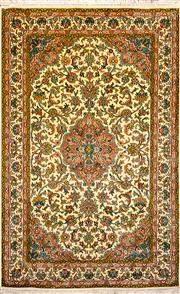 Sale 8307A - Lot 14 - Kashmiri Silk 147cm x 93cm RRP $2000