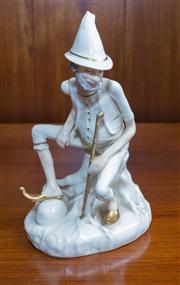 Sale 8313A - Lot 75 - A Royal Doulton Enchantment series figure, Rumpelstiltskin, HN 3025 modelled by Robert Jefferson, height 21cm