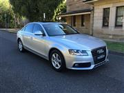 Sale 8431V - Lot 5002 - Audi A4 2009 Sedan                                                                        Reg No: DSE 80Q...