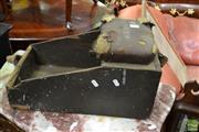 Sale 8469 - Lot 1083 - Vintage timber shoe shiners kit
