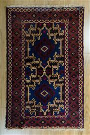 Sale 8717C - Lot 81 - Persian Baluchi 155cm x 87cm