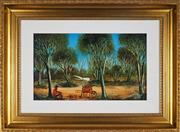 Sale 8858H - Lot 69 - Kevin Charles (Pro) Hart (1928 - 2006) - Woodchopper 26 x 44.5cm