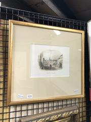 Sale 8841 - Lot 2036 - A hand-coloured engraving of King Street, looking East After Fleury 1853, published by Sands & Kenny