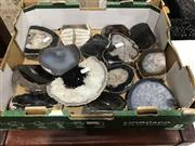 Sale 8893 - Lot 1020 - Box of Natural Polished Agate