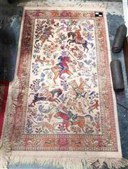 Sale 8925 - Lot 1028 - Three persian finely woven carpets