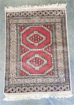 Sale 9157 - Lot 1078 - Persian bokhara prayer rug (91x65cm)