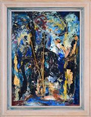 Sale 8382 - Lot 578 - Florence Broadhurst (1899 - 1977) - Untitled (Abstract) 57.5 x 40.5cm