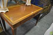 Sale 8386 - Lot 1074 - Reproduction Two Drawer Writing Desk