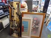 Sale 8407T - Lot 2046 - Group of Assorted Artworks (4), framed various sizes