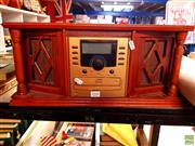 Sale 8582 - Lot 2344 - Old Style Radio with CD Player
