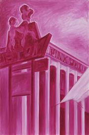 Sale 8708A - Lot 561 - Luke Roberts (1952 - ) - Pink Poodle Motel, 1999 91 x 61cm