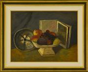 Sale 9080J - Lot 77 - Roland Wakelin - Still Life 40x53cm
