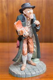 Sale 8313A - Lot 76 - A Royal Doulton sculpture of Dickensian character Fagan, felt base, height 22cm