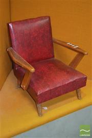 Sale 8310 - Lot 1609 - Retro Kids Chair