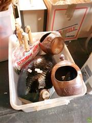 Sale 8582 - Lot 2252 - 2 Bendigo Salts, 1 Large Jug & 5 Simmerings
