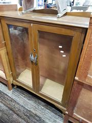 Sale 8745 - Lot 1064 - Timber Display Case