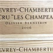 Sale 8825 - Lot 758 - 6x 2016 Olivier Bernstein Les Champeaux, 1er Cru, Gevrey-Chambertin - original timber box