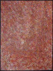 Sale 8901 - Lot 593 - Anna Pitjara (c1965 - ) - Untitled 129 x 95 cm
