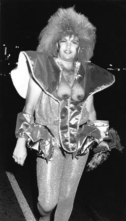 Sale 9082A - Lot 5018 - Sydney Gay and Lesbian Mardi Gras Parade, Oxford Street (1988), 13 x 23.5 cm, silver gelatin, Photographer: Gary McLean