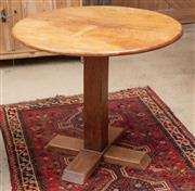 Sale 9060H - Lot 9 - An circular top occasional table in the ecclesiastical taste, 74 x 85cm