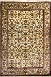 Sale 8307A - Lot 15 - Kashmiri Silk 275cm x 186cm RRP $8000
