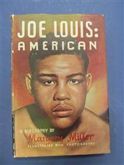 Sale 8419A - Lot 77 - Boxing Books - a box of 21 books including Les Darcy, Joe Louis, etc