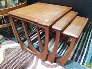 Sale 8435 - Lot 1069 - G-Plan Teak Nest of Tables