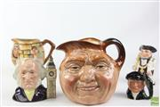 Sale 8490 - Lot 293 - Royal Doulton Character Jugs Together With Others Incl Oliver Twist