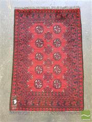 Sale 8542 - Lot 1092 - Afghan Turkoman (120 x 60cm)