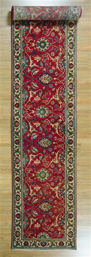 Sale 8643C - Lot 48 - Persian Tabriz Runner 480cm x 80cm