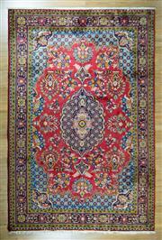 Sale 8653C - Lot 53 - Persian Tabriz 325cm x 215cm
