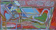 Sale 8708A - Lot 584 - Robert Morris (1949 - ) - Untitled 61.5 x 112.5cm