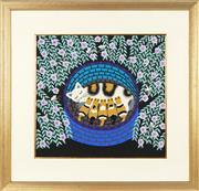 Sale 8762 - Lot 2020 - Artist Unknown - Kindle of Joy 55.5 x 59cm