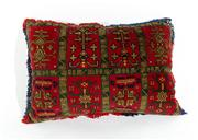 Sale 8770C - Lot 25 - A Persian Handmade Wool Cushion,  82 x 40cm
