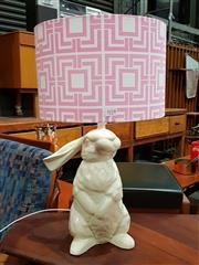 Sale 8782 - Lot 1018 - Studio Australia Ceramic Rabbit Form Lamp