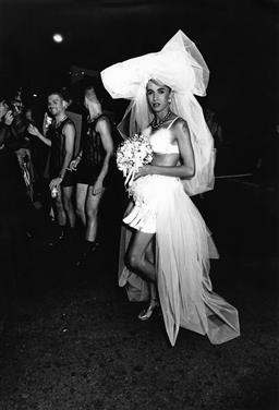 Sale 8912A - Lot 5027 - The Bride, Sydney Gay and Lesbian Mardi Gras Parade (1994), 21 x 30 cm, silver gelatin, Photographer: unknown