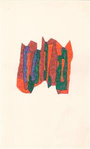 Sale 8961 - Lot 2045 - Lyndon Dadswell (1908-1986) (10 works) - Sketches no. 471 - 480, c1970s various sizes